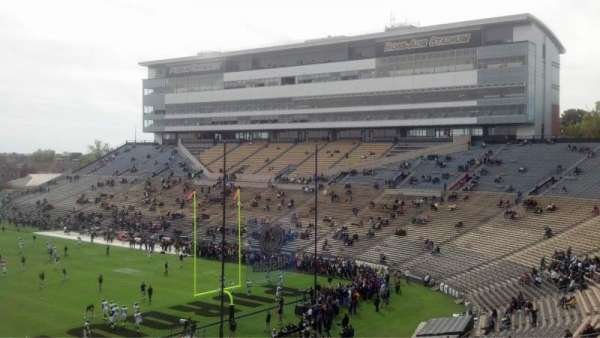 Ross-Ade Stadium, section: 112, row: 55, seat: 12