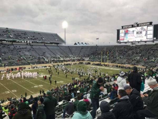 Spartan Stadium, section: 25, row: 45, seat: 28