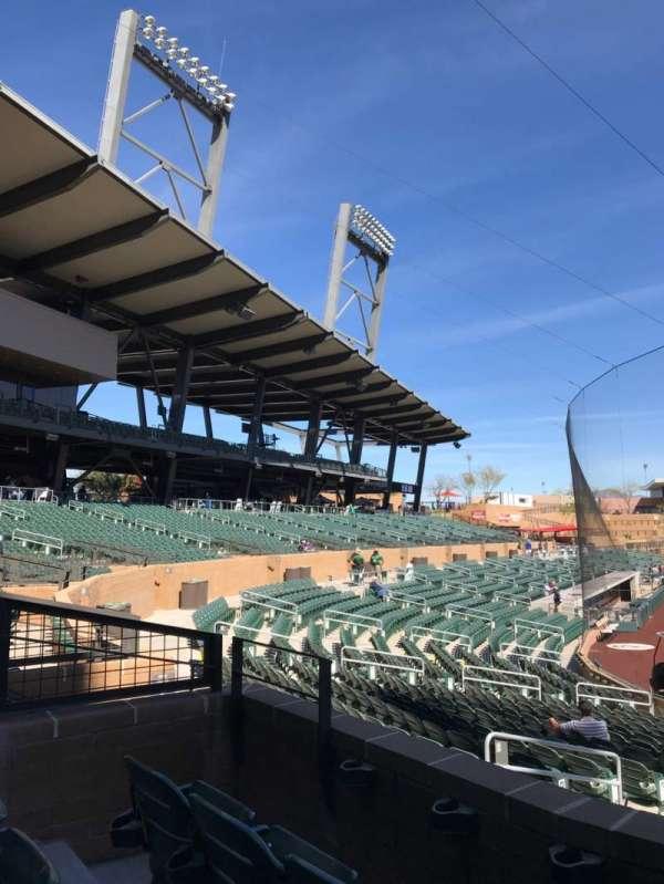 Salt River Fields, section: 211, row: 3, seat: 10