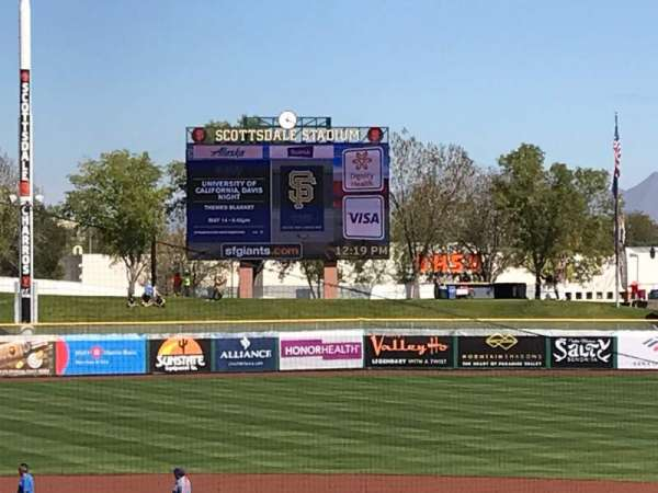 Scottsdale Stadium, section: 306, row: 3, seat: 6