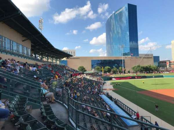 Victory Field, section: 209, row: C, seat: 1