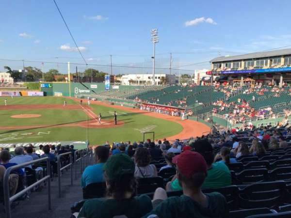 Cooley Law School Stadium, section: L, row: 27, seat: 19