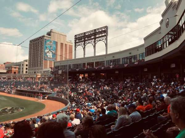 Canal Park, section: 115, row: T, seat: 20
