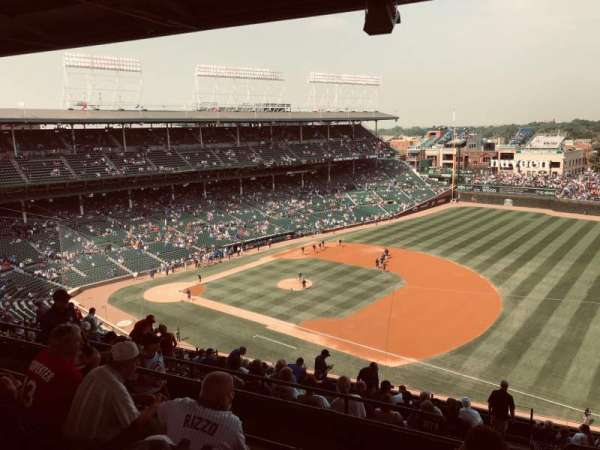 Wrigley Field, section: 427R, row: 4, seat: 18