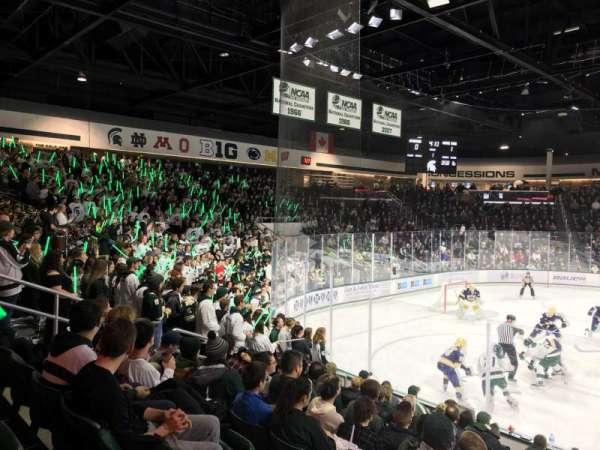 Munn Ice Arena, section: W, row: 11, seat: 4