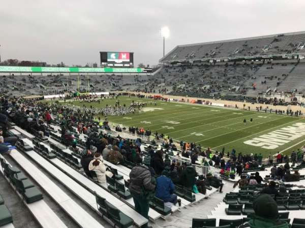 Spartan Stadium, section: 19, row: 49, seat: 62