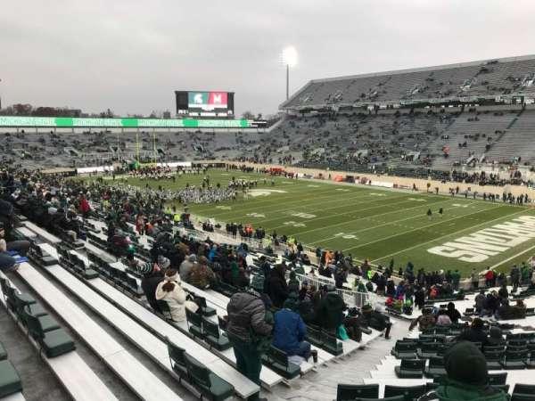Spartan Stadium, section: 19, row: 49, seat: 62