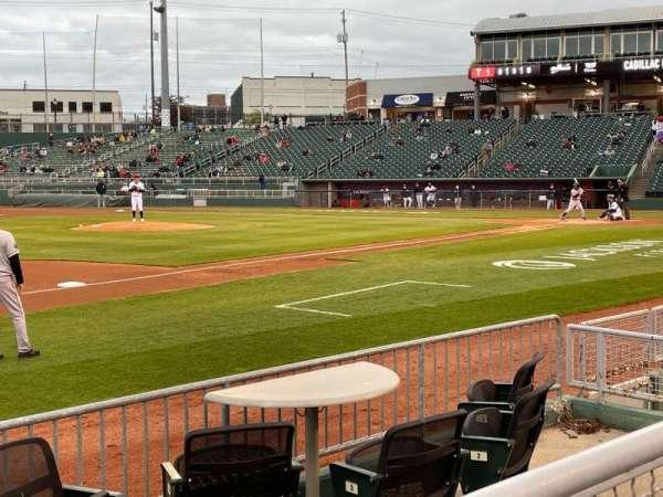 Jackson Field, section: Q, row: 5, seat: 4