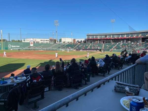 Jackson Field, section: Pepsi, row: 3, seat: 108