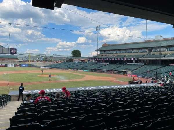 Louisville Slugger Field, section: 120, row: W, seat: 17