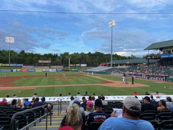 Smokies Stadium, section: 113, row: 13, seat: 20