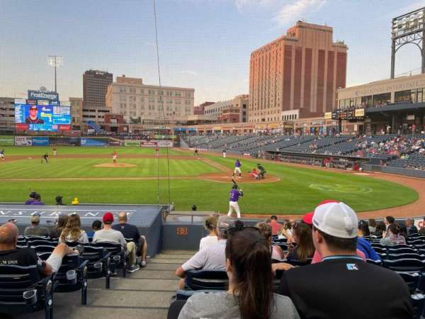 Canal Park, section: 16, row: O, seat: 17