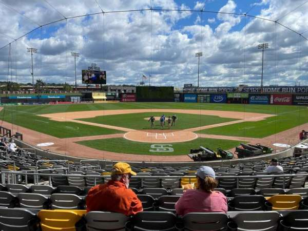 CHS Field, section: 109, row: 16, seat: 13