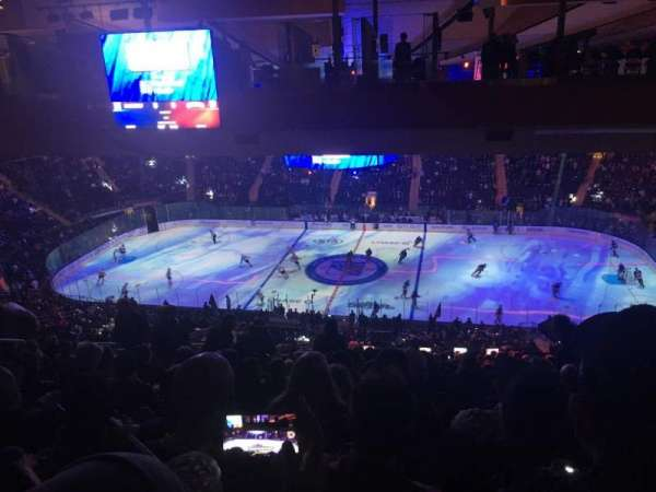 Madison Square Garden, section: 225, row: 22