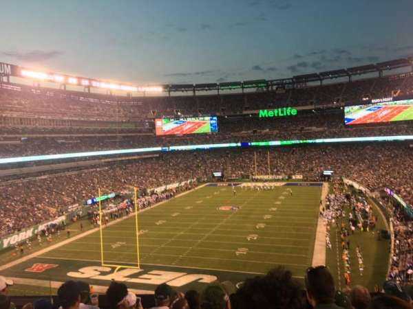 MetLife Stadium, section: 223, row: 7, seat: 15