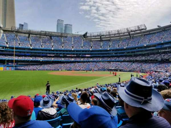Rogers Centre, section: 130DR, row: 17, seat: 2