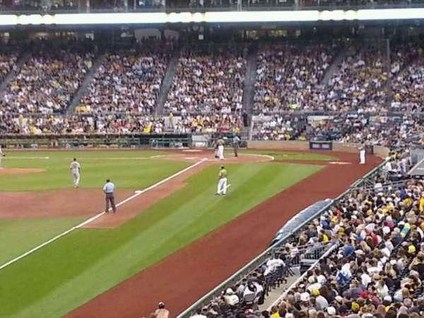 PNC Park, section: 131, row: CC, seat: 24