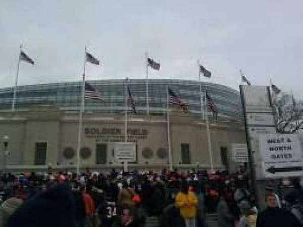 Soldier Field, section: Gate 0