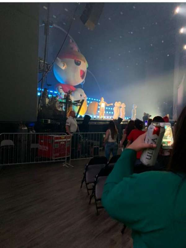 The Pavilion at Toyota Music Factory, section: 103, row: H, seat: 16