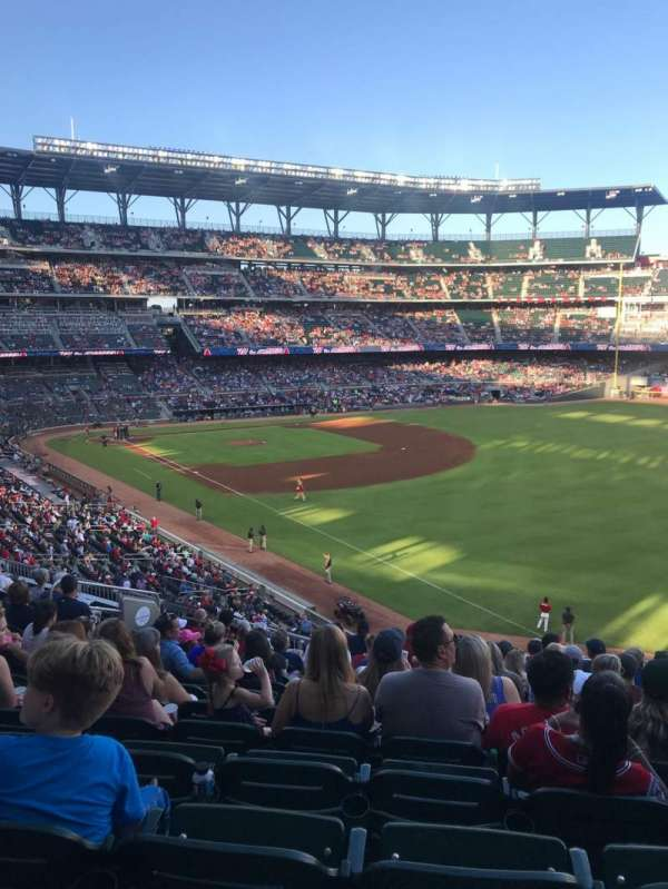 SunTrust Park, section: 212, row: 11, seat: 12