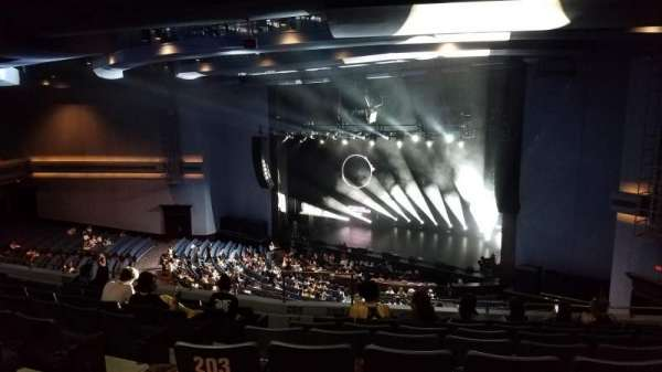 Rosemont Theatre, section: 203, row: G, seat: 4