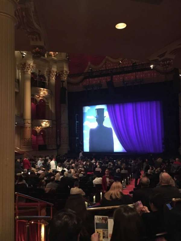 Academy of Music, section: Parquet Circle D, row: W, seat: 6