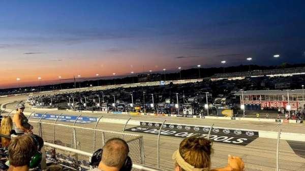 Darlington Raceway, section: Q, row: 2, seat: 12