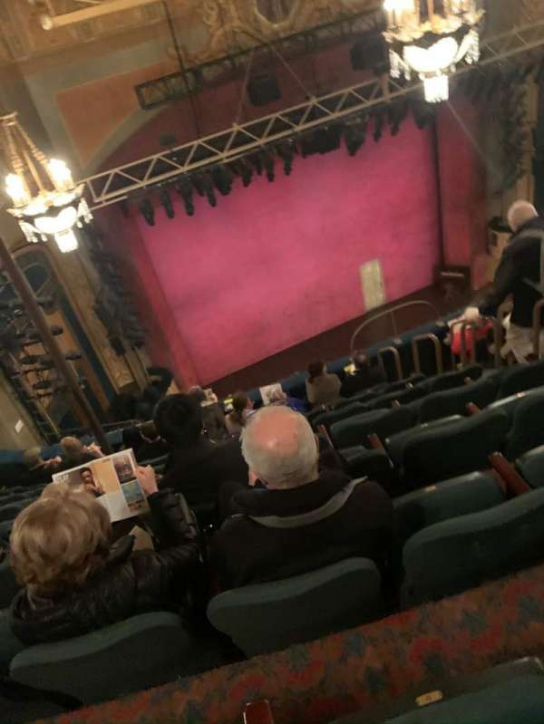 Shubert Theatre, section: Balcony L, row: H, seat: 11
