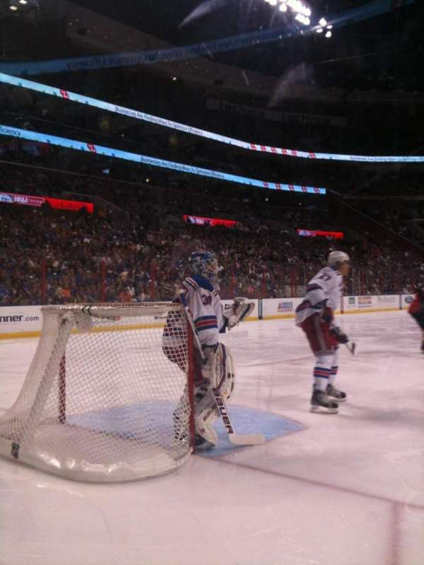 BB&T Center, section: 100, row: 1, seat: 1