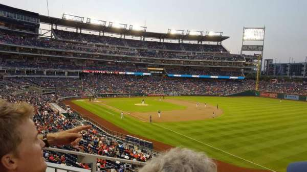 Nationals Park, section: 229, row: C, seat: 16