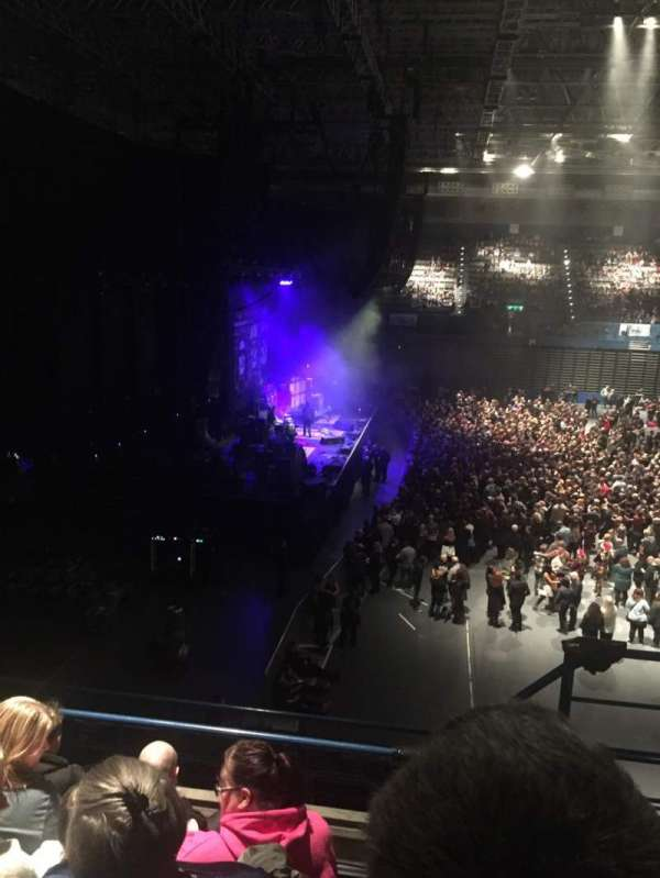 Arena Birmingham, section: 11 Upper, row: EE, seat: 455