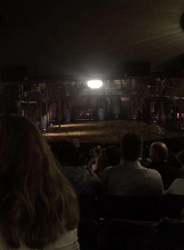 Richard Rodgers Theatre, section: Orchestra C, row: W, seat: 110