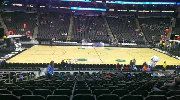 T-Mobile Center, section: 117, row: 18, seat: 18