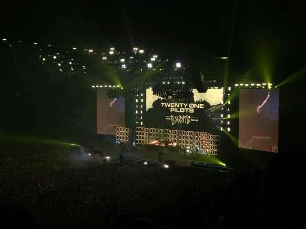 AO Arena, section: 113, row: V, seat: 21