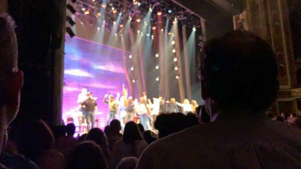 Cadillac Palace Theater, section: Orchestra L, row: G, seat: 25