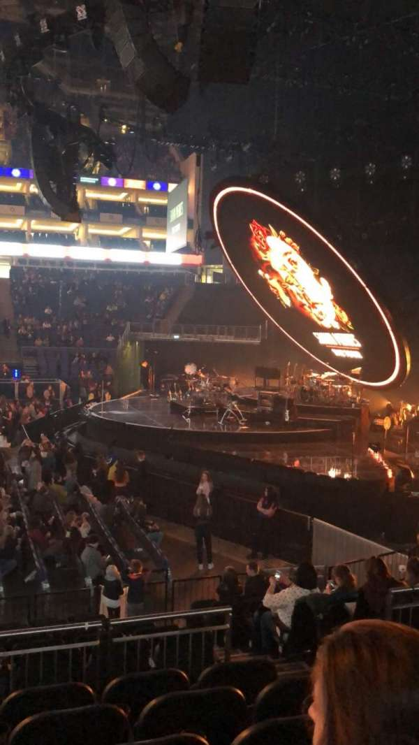 The O2 Arena, section: 112, row: N, seat: 375