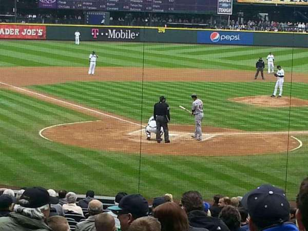 T-Mobile Park, section: 128, row: 25, seat: 3
