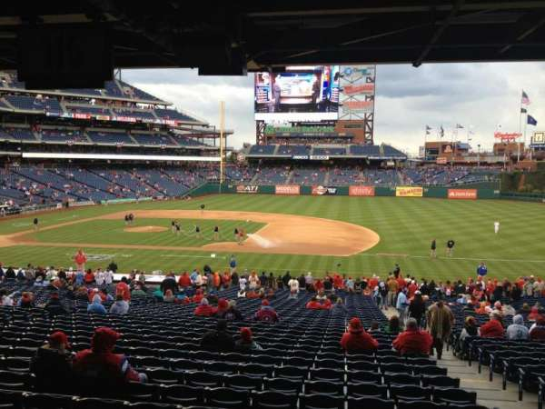 Citizens Bank Park, section: 115, row: 40, seat: 4