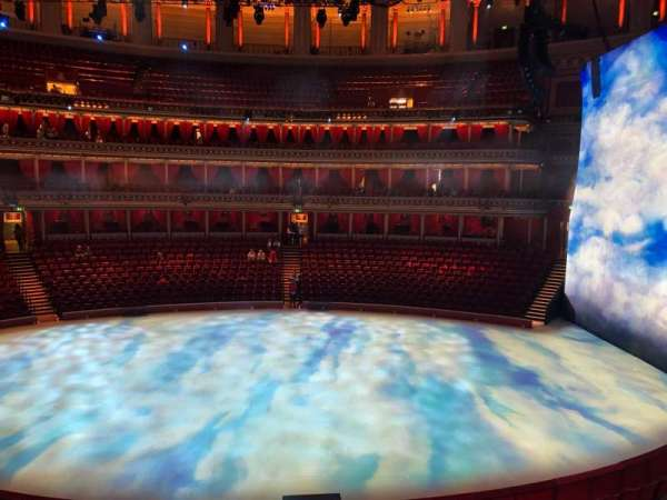 Royal Albert Hall, section: Grand Tier 37, seat: 1