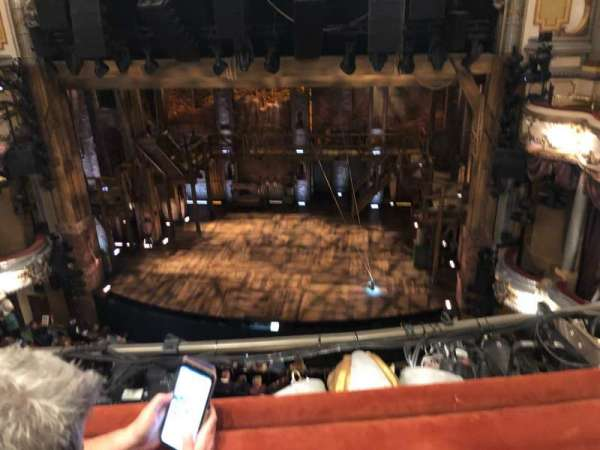 Victoria Palace Theatre, section: Grand Circle, row: B, seat: 15