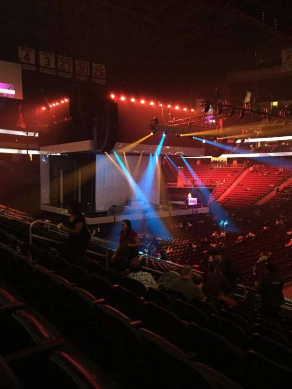 Prudential Center, section: 20, row: 18, seat: 7