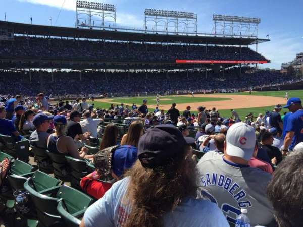 Wrigley Field, section: 129, row: 9, seat: 10
