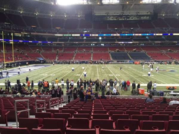The Dome at America's Center, section: 142, row: R, seat: 24