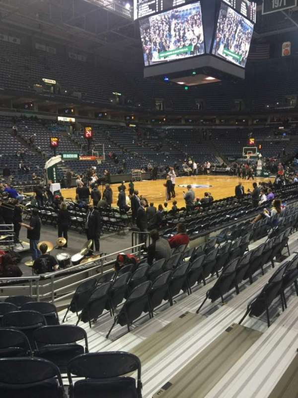BMO Harris Bradley Center, section: 218, row: H , seat: 8