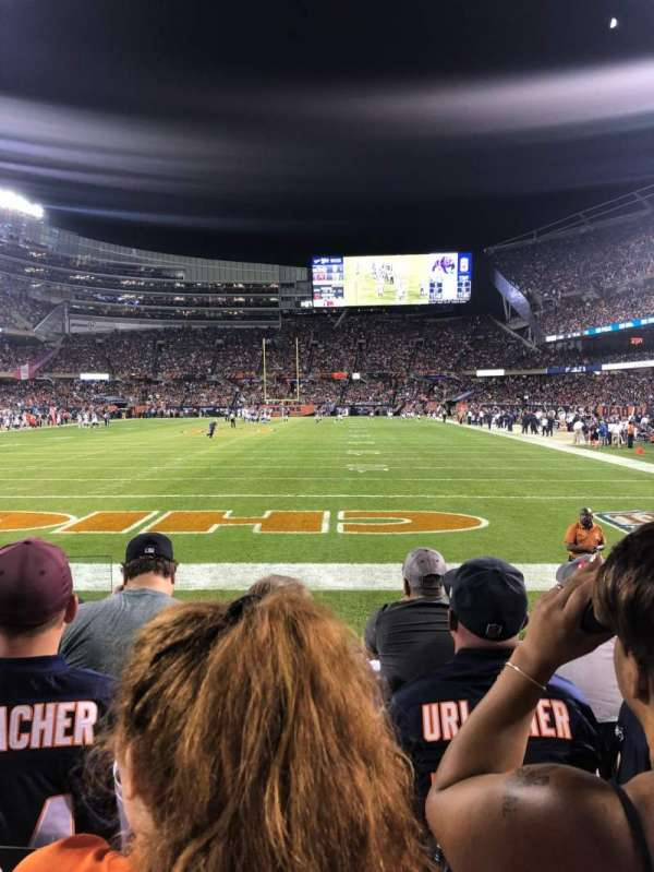 Soldier Field, section: 150, row: 4, seat: 2
