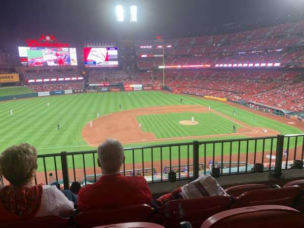 Busch Stadium, section: 257, row: 3, seat: 17