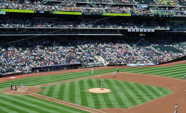 Citi Field, section: 309, row: 1, seat: 12