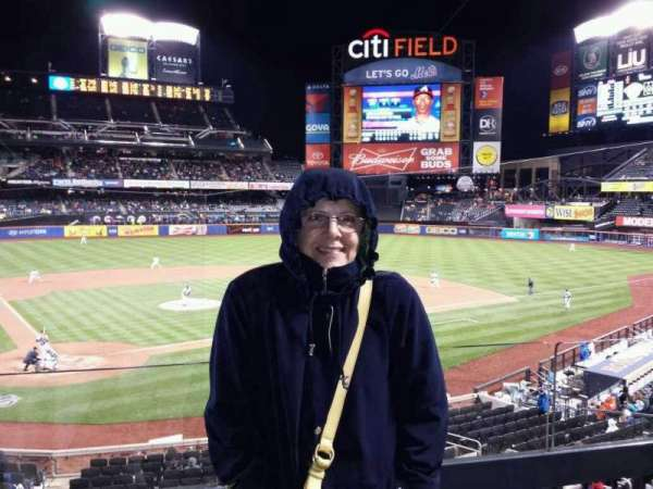 Citi Field, section: 117, row: 2, seat: 1