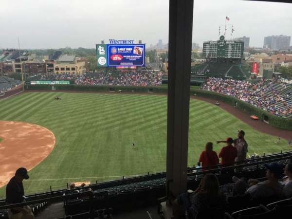 Wrigley Field, section: 533, row: 6, seat: 104
