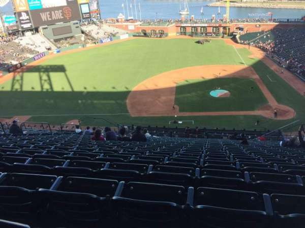 AT&T Park, section: 323, row: 16, seat: 9